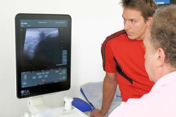 Behandling ortopedi med ultraljud