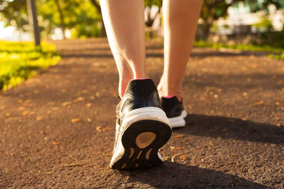 Hälseneinflammation - ont i foten