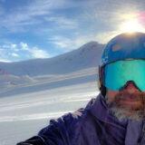 Björn Becksmo på alptoppen