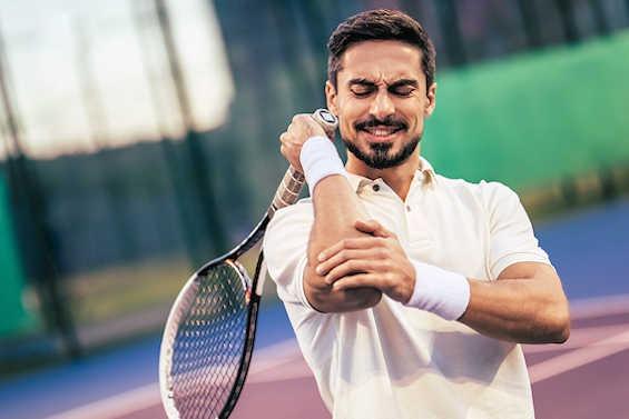 Ont i armbågen - Tennisarmbåge