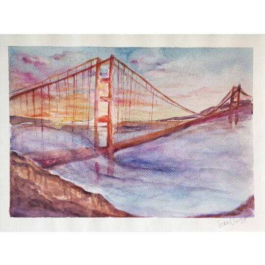 Sara Norrwing - Golden gate bridge