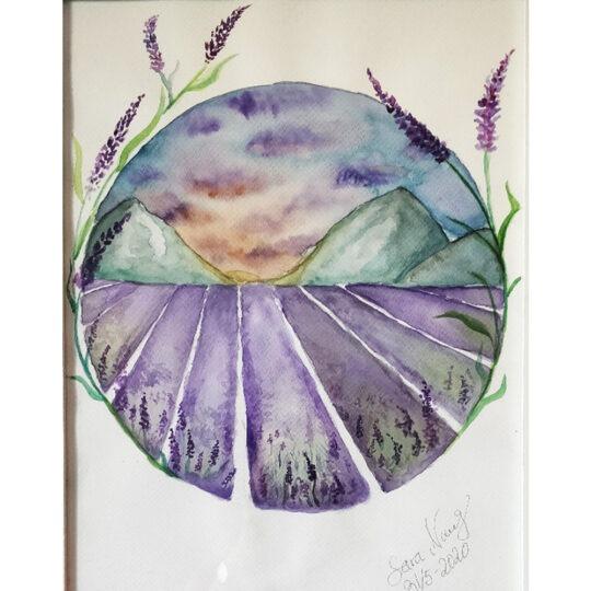 Sara Norrwing - Lavendel dream
