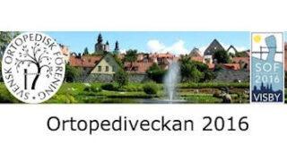 Ortopediveckan Visby 2016