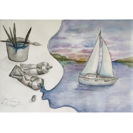 Sara Norrwing - Drömmen om havet